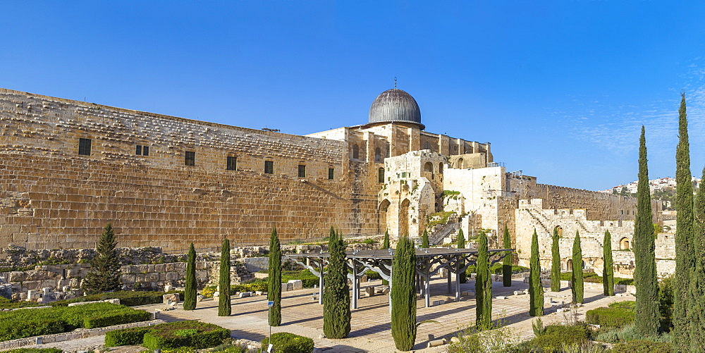 Jerusalem Archaeological Park and Davidson Center, Jerusalem, Israel, Middle East - 1104-1351