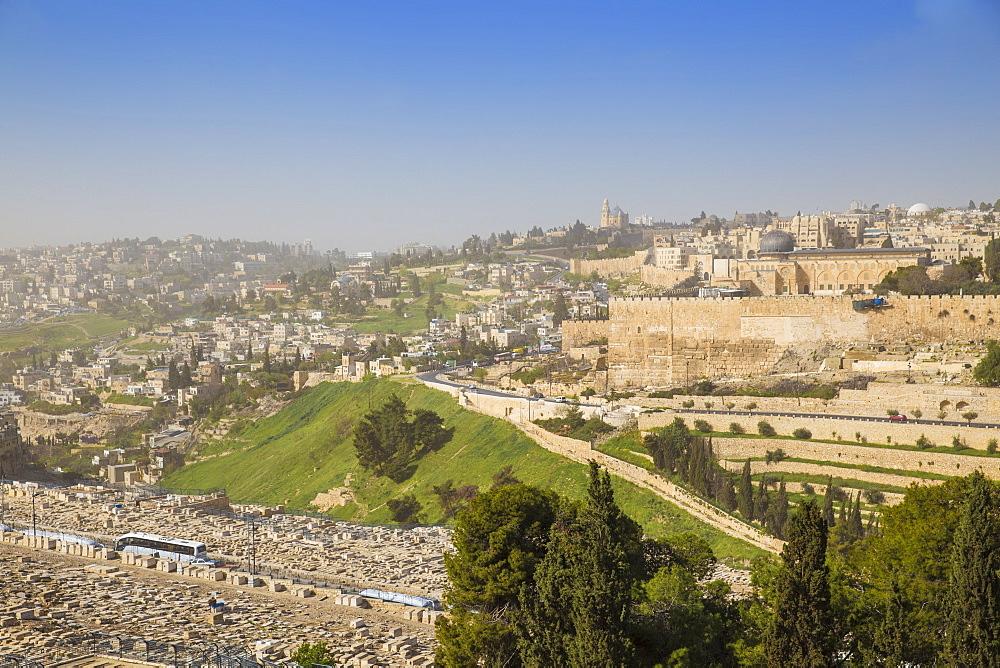 Israel, Jerusalem, Mount of Olives - 1104-1352