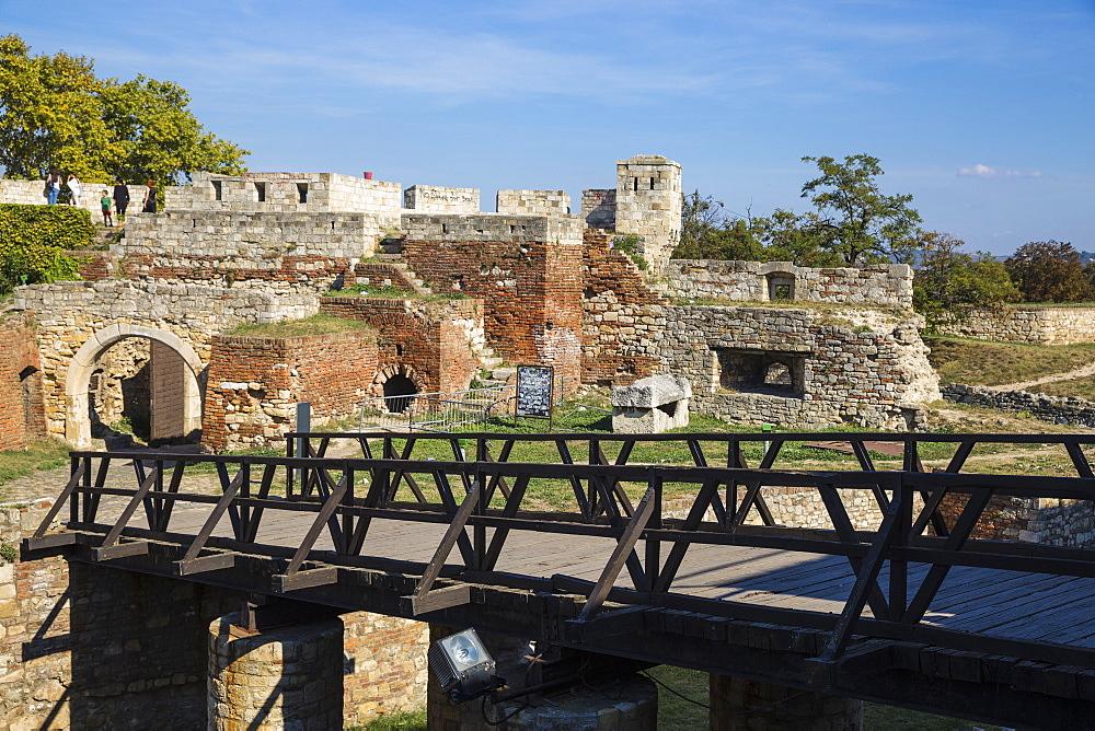 Belgrade Fortress, Kalemegdan Park, Belgrade, Serbia, Europe - 1104-1375