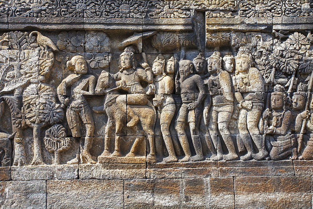 Borobudur Temple, UNESCO World Heritage Site, Magelang, Java, Indonesia, Southeast Asia, Asia