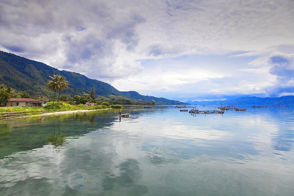 Ambarita, Lake Toba, Samosir Island, Sumatra, Indonesia, Southeast Asia, Asia
