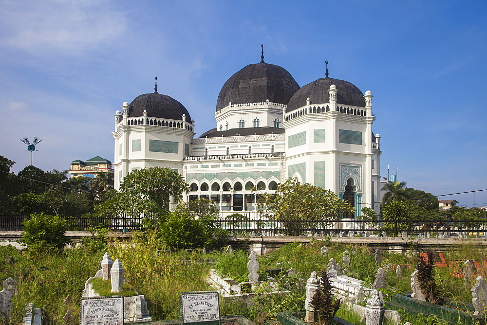 Great Mosque, Medan, Sumatra, Indonesia, Southeast Asia, Asia - 1104-1409