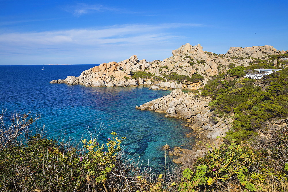 Cala Spinosa, Capo Testa, Santa Teresa Gallura, Sardinia, Italy, Mediterranean, Europe