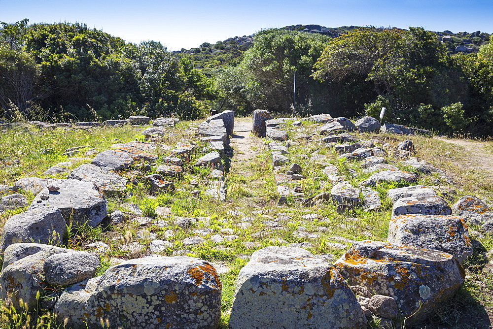 Lu Brandali archaelogical site, The Giant's tomb, Santa Teresa Gallura, Sardinia, Italy, Mediterranean, Europe