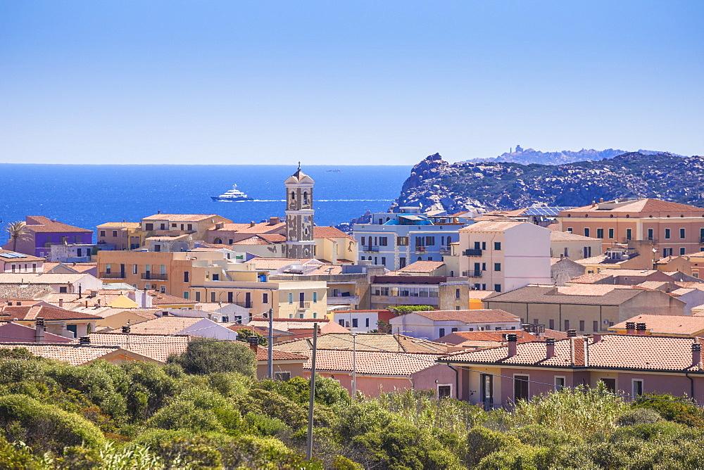 View of Santa Teresa Gallura, Sardinia, Italy, Mediterranean, Europe