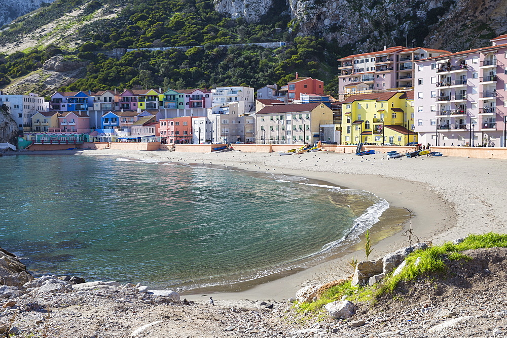 Catalan Bay, Gibraltar, Mediterranean, Europe