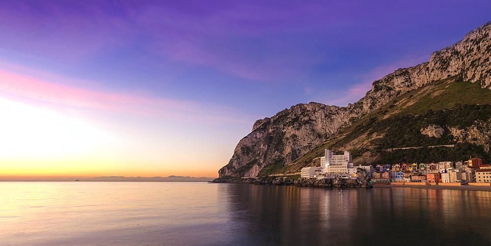 Catalan Bay, Gibraltar, Mediterranean, Europe