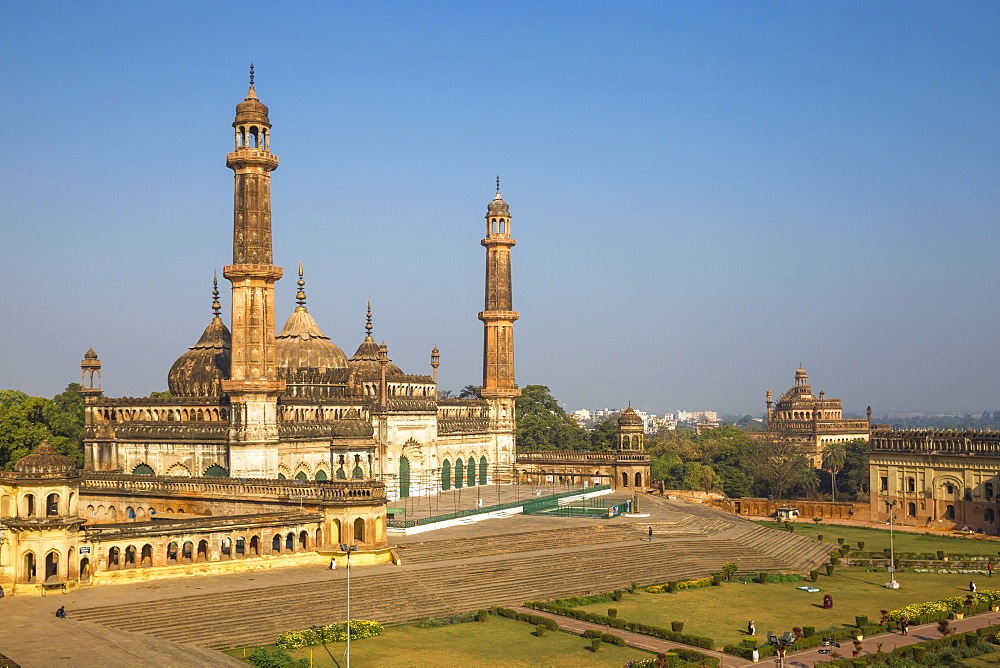 Asifi Mosque at Bara Imambara complex, Lucknow, Uttar Pradesh, India, Asia