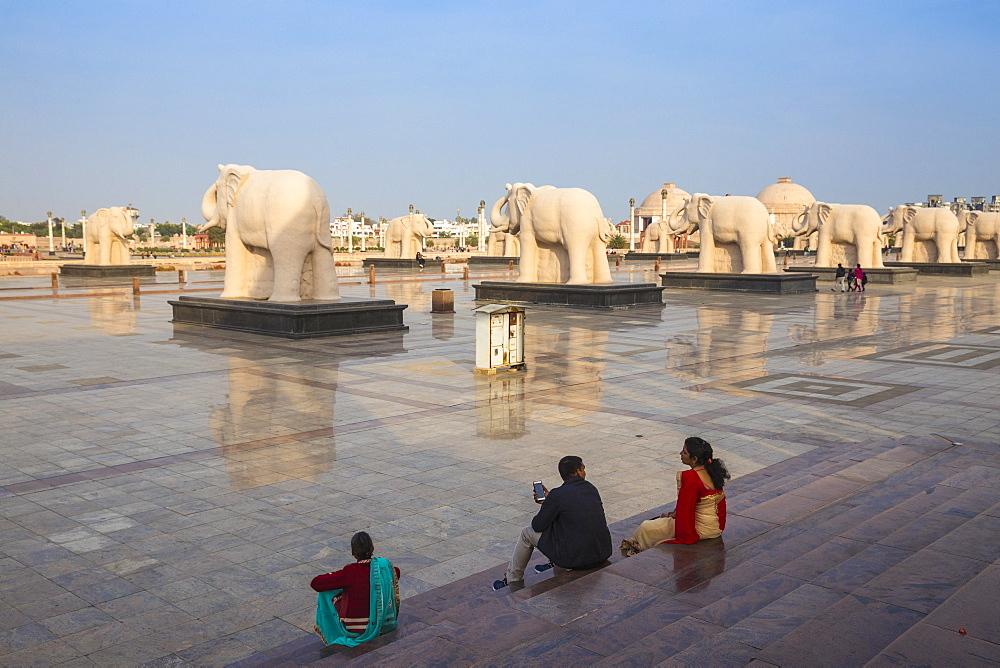 Dr. Ambedkar Park, Lucknow, Uttar Pradesh, India, Asia