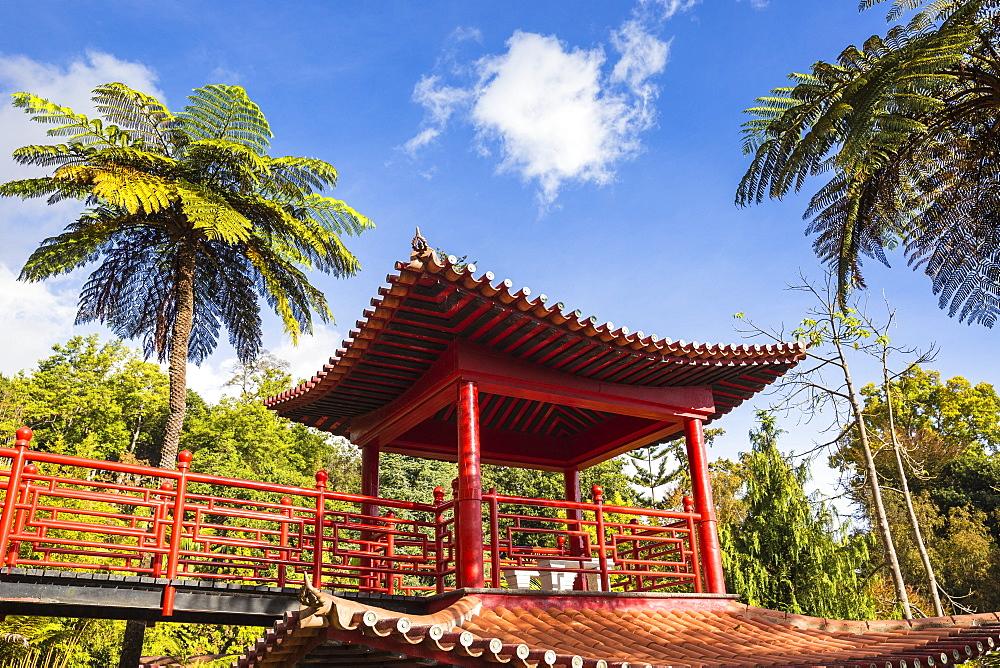 Monte Palace Tropical Garden, Oriental Gardens, Monte, Funchal, Madeira, Portugal, Atlantic, Europe