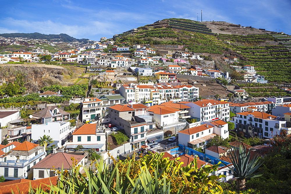View of Camara de Lobos, Funchal, Madeira, Portugal, Atlantic, Europe