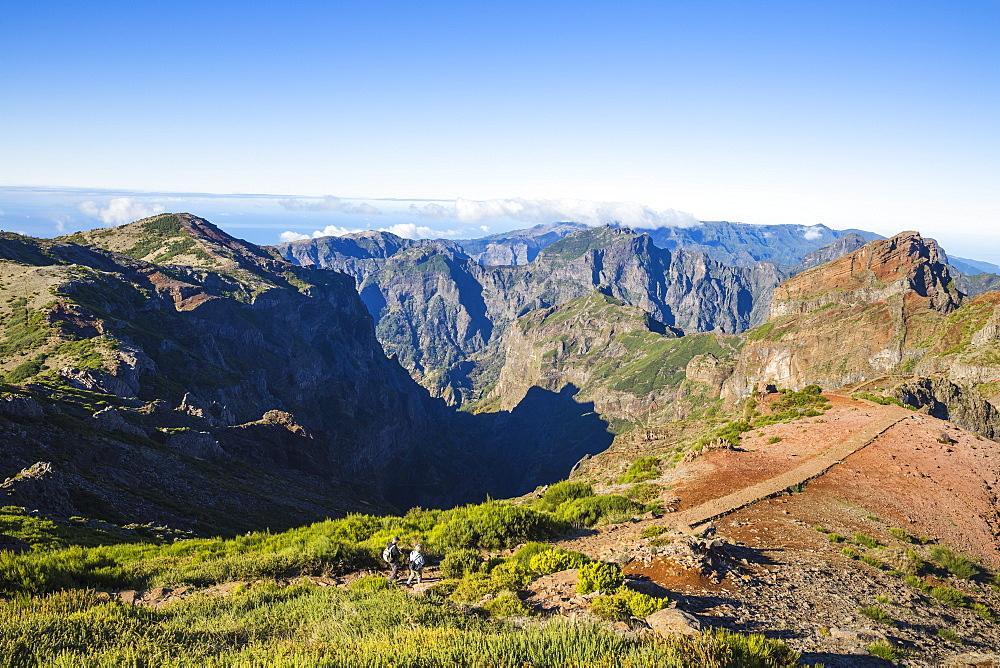 Portugal, Madeira, View from Pico do Arieiro