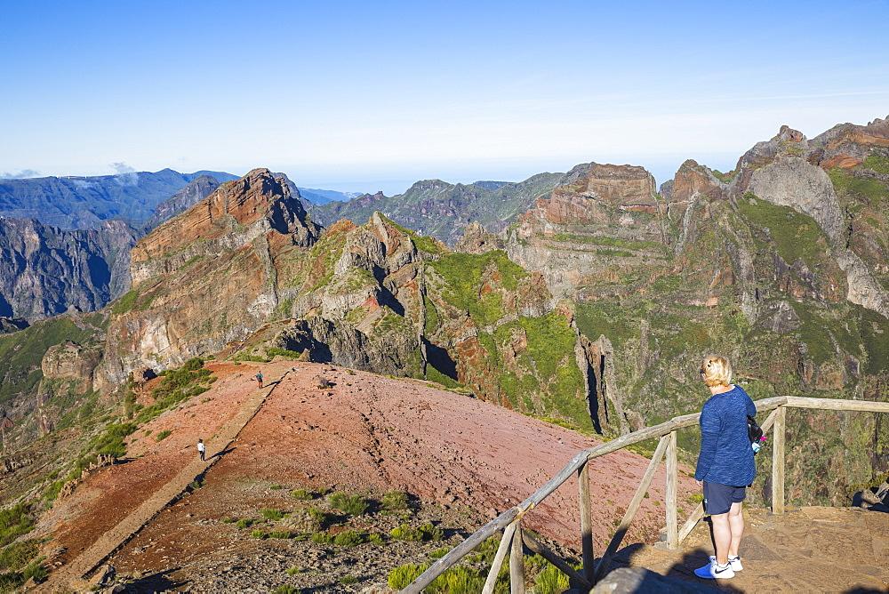 View from Pico do Arieiro, Madeira, Portugal, Atlantic, Europe