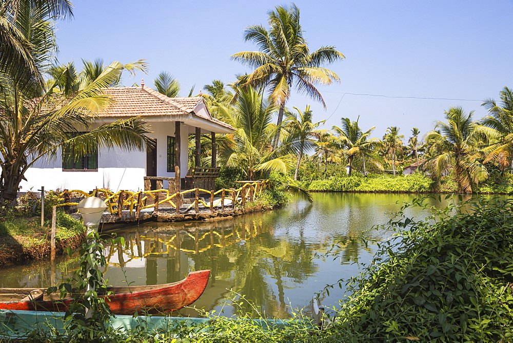 Resort on Munroe Island, Kollam, Kerala, India, Asia