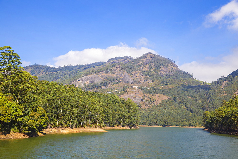 India, Kerala, Munnar, Mattupetty Lake