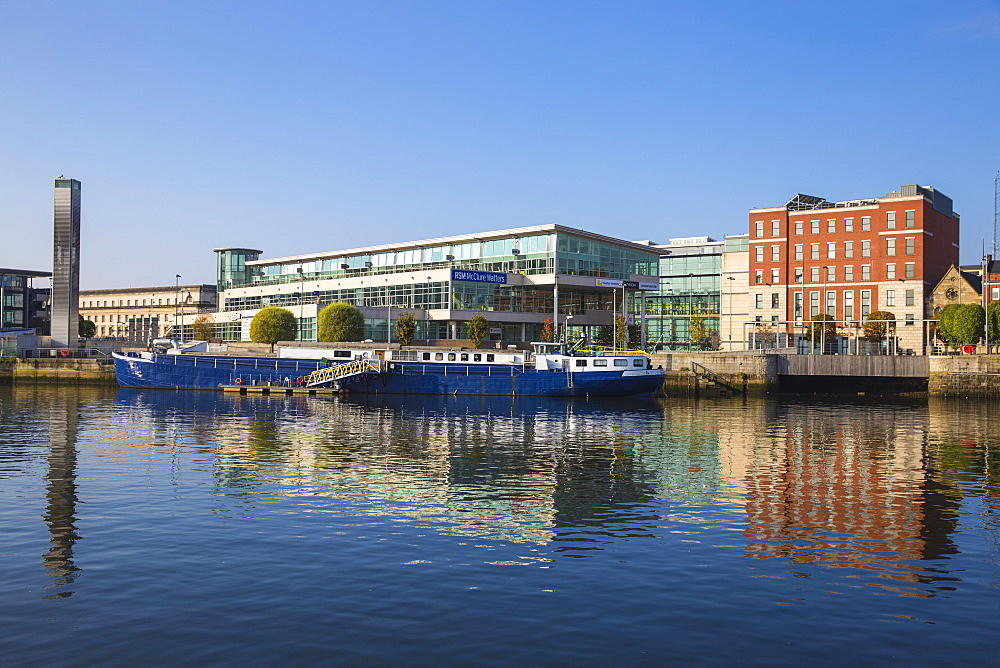 The Lagan waterfront, Belfast, Ulster, Northern Ireland, United Kingdom, Europe