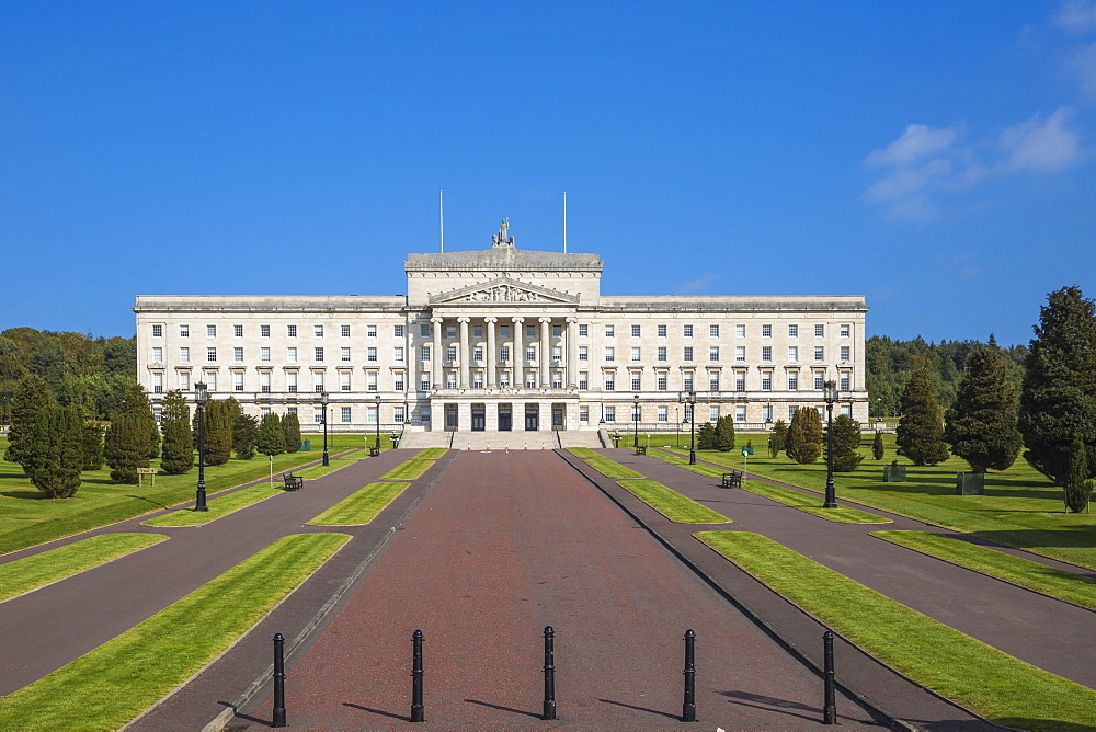 Stormont Parliament Buildings, Belfast, Ulster, Northern Ireland, United Kingdom, Europe - 1104-1812