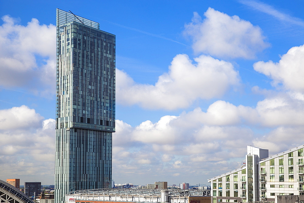 Beetham Tower (Hilton Tower), Manchester, England, United Kingdom, Europe - 1104-1826