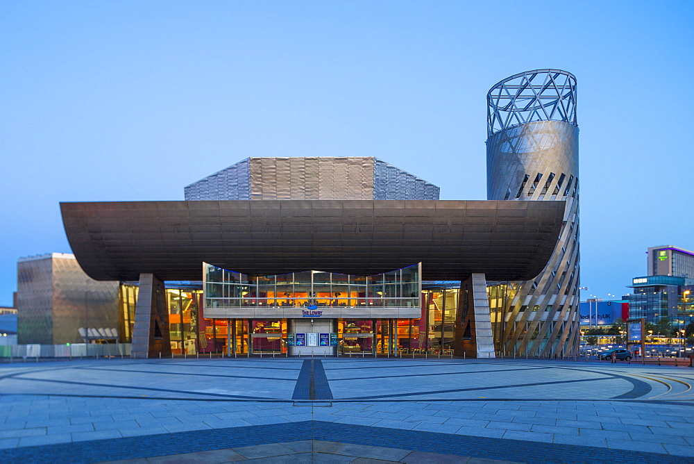The Lowry Theatre, Manchester, Greater Manchester, England, United Kingdom, Europe - 1104-1828