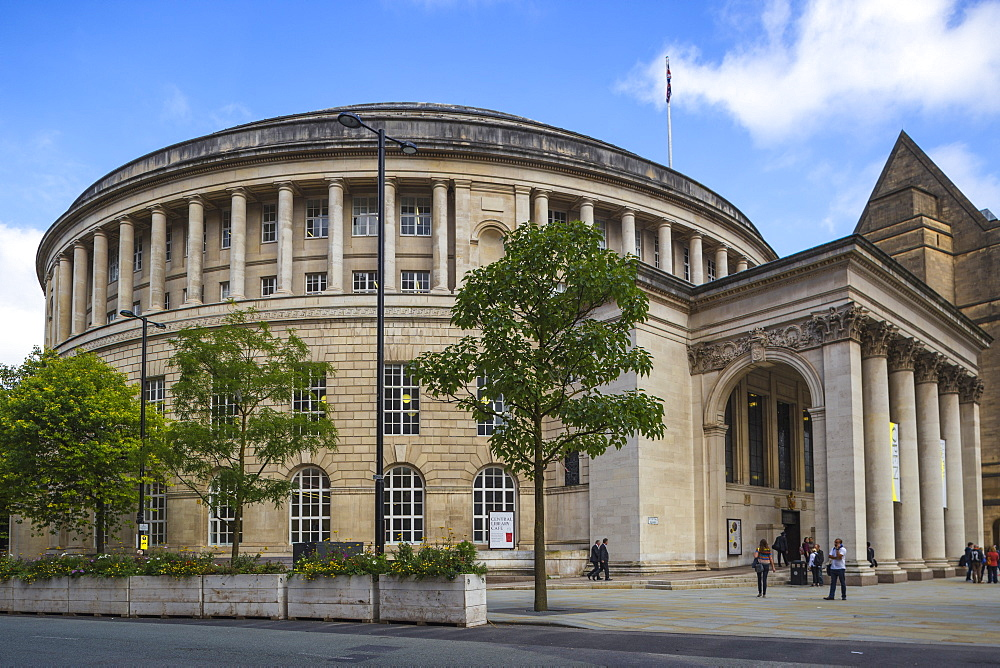 Manchester Central Library, Manchester, England, United Kingdom, Europe - 1104-1830