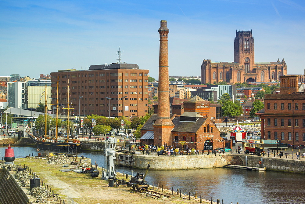 Albert Dock, UNESCO World Heritage Site, Liverpool, Merseyside, England, United Kingdom, Europe - 1104-1832
