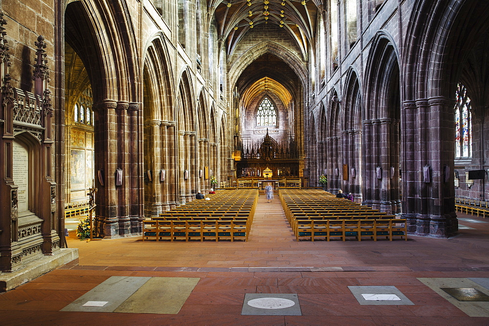 Chester Cathedral, Chester, Cheshire, England, United Kingdom, Europe - 1104-1847