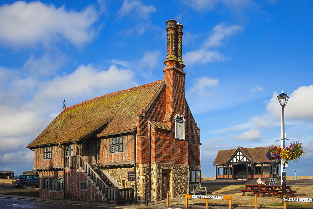 The Moot Hall, Aldeburgh, Suffolk, England, United Kingdom, Europe - 1104-1851