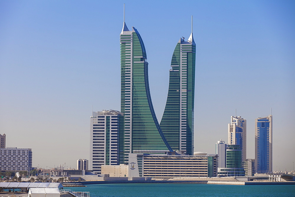Bahrain Financial Harbour, Harbour Towers, Manama, Bahrain, Middle East