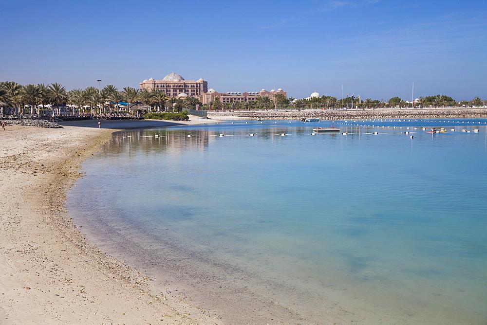 The Emirates Palace Hotel, Abu Dhabi, United Arab Emirates, Middle East