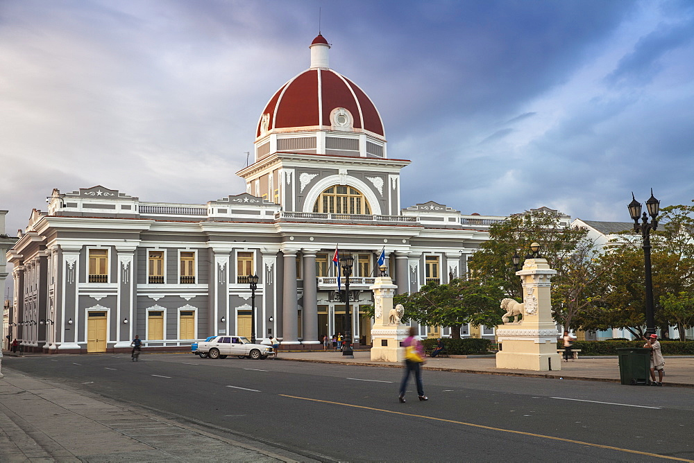 Palacio de Gobierno, now the City Hall, Parque Marta, Cienfuegos, Cienfuegos Province, Cuba, West Indies, Caribbean, Central America