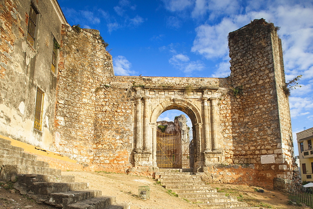 Monasterio De San Francisco, Colonial Zone, UNESCO World Heritage Site, Santo Domingo, Dominican Republic, West Indies, Caribbean, Central America