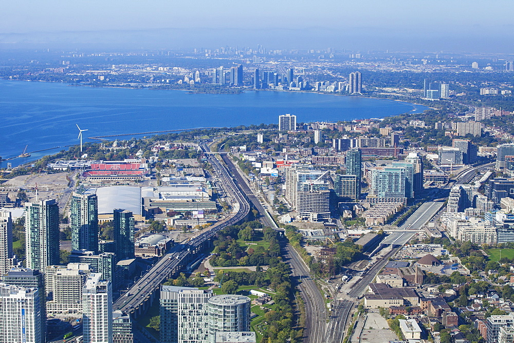 View of Toronto, Ontario, Canada, North America