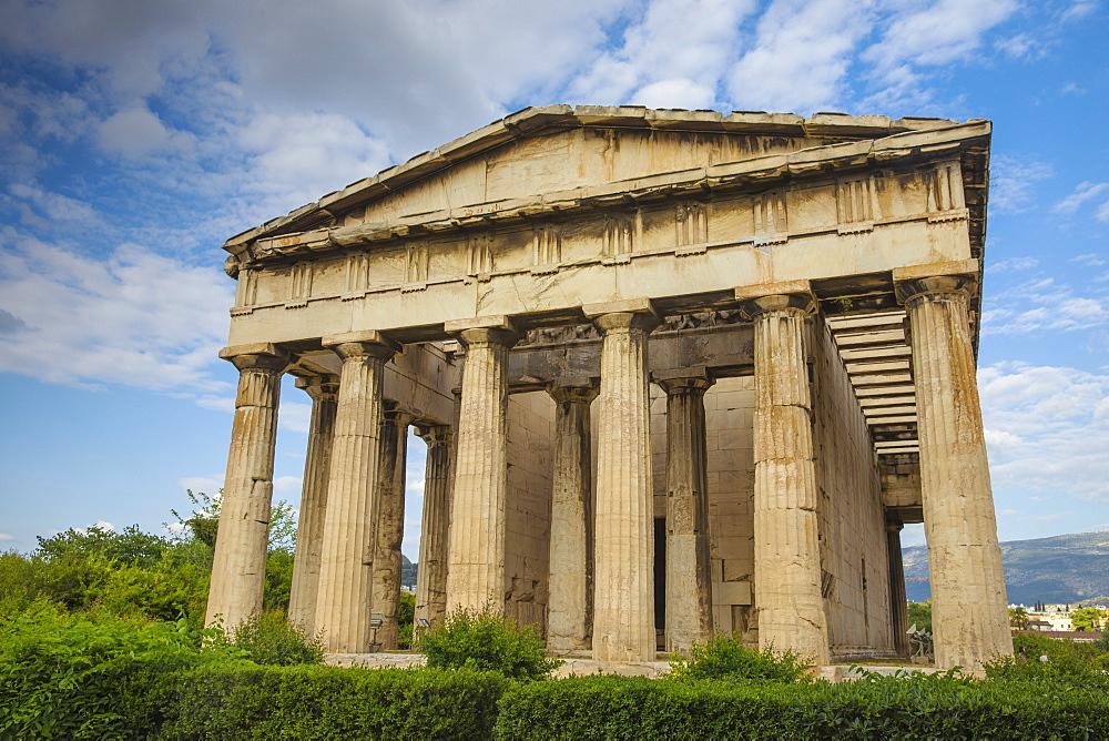 Temple of Hephaestus, The Agora, Athens, Greece, Europe - 1104-450