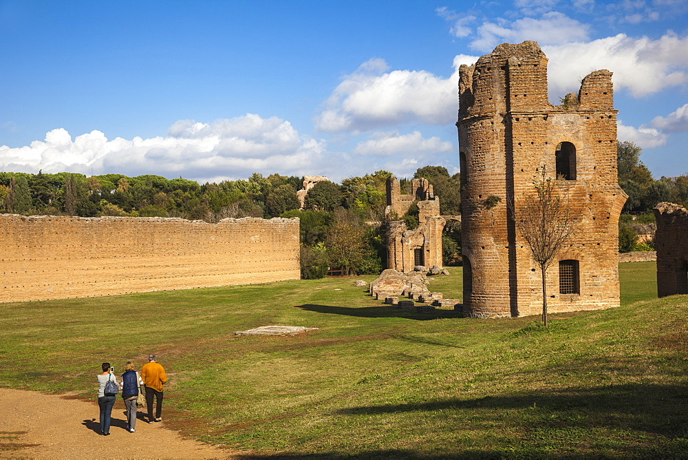 Villa de Massenzio, Ancient Appian Way, Rome, Lazio, Italy, Europe