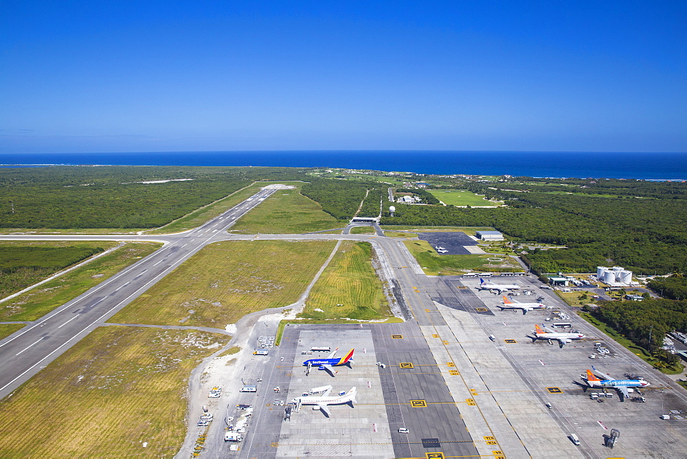 International airport, Punta Cana, Dominican Republic, West Indies, Caribbean, Central America