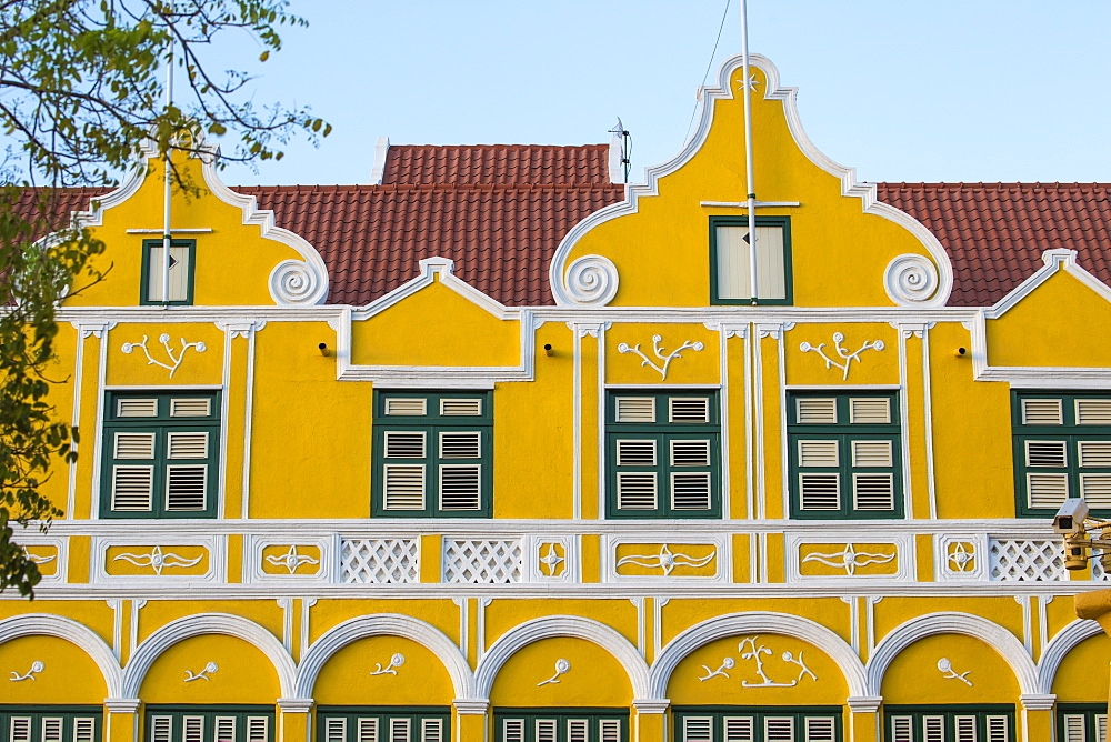 The Penha building, a former merchants house built in 1708, Punda, UNESCO World Heritage Site, Willemstad, Curacao, West Indies, Lesser Antilles, former Netherlands Antilles, Caribbean, Central America