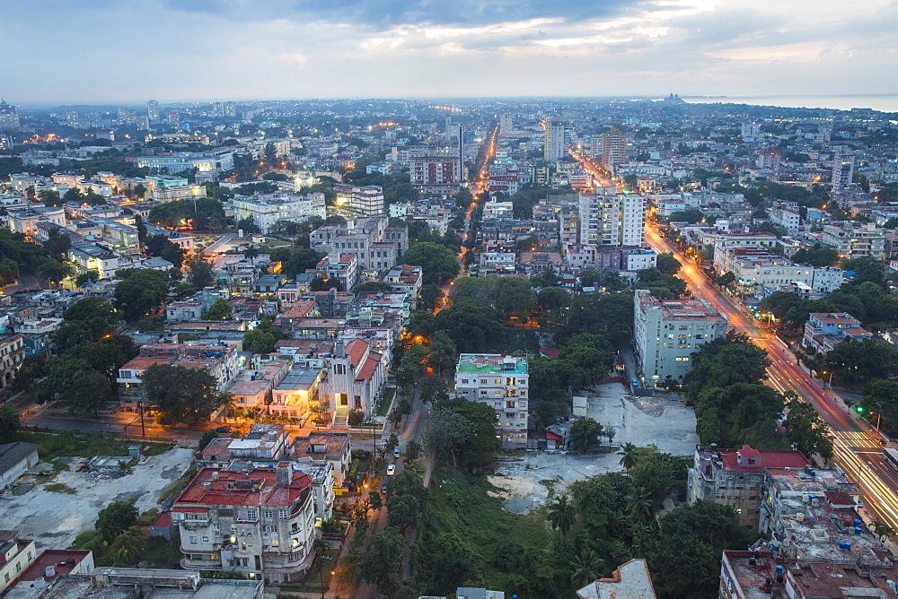 Cuba, Havana, View of Havana