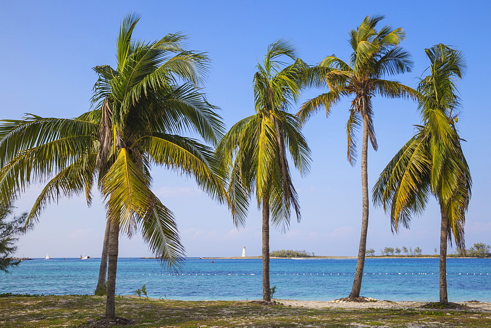 Junkanoo beach, Nassau, Providence Island, Bahamas, West Indies, Caribbean, Central America