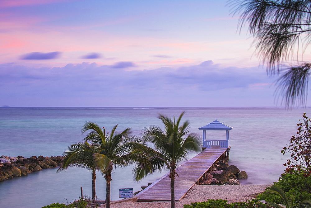 Caribbean, Bahamas, Pier on Providence Island