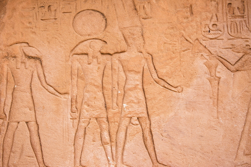Egypt, Abu Simbel, The Great Temple, known as Temple of Ramses II - 1104-816