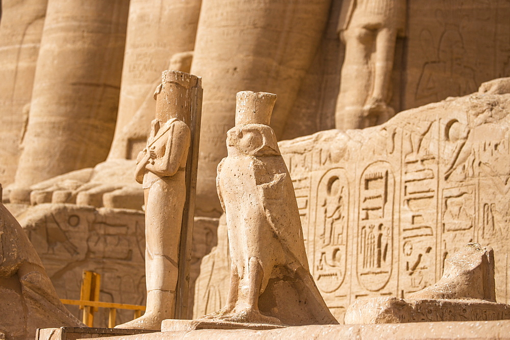 Egypt, Abu Simbel, The Great Temple, known as Temple of Ramses II - 1104-818
