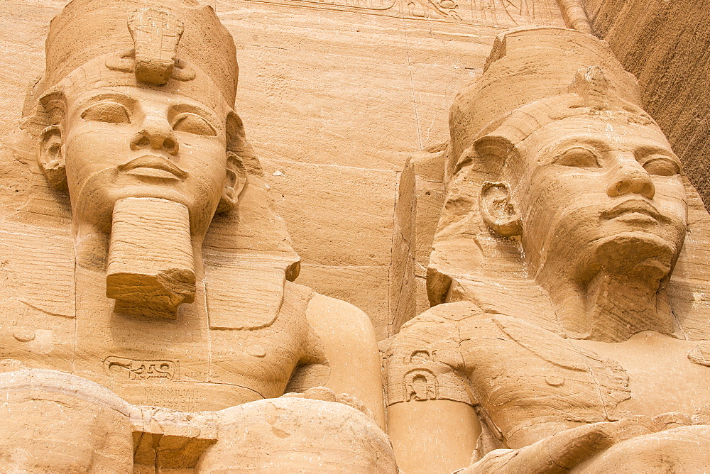 Egypt, Abu Simbel, The Great Temple, known as Temple of Ramses II - 1104-820