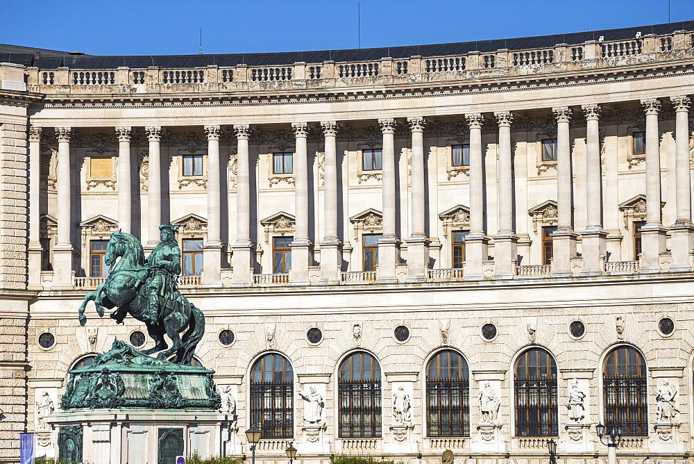 Hofburg Palace, UNESCO World Heritage Site, Vienna, Austria, Europe