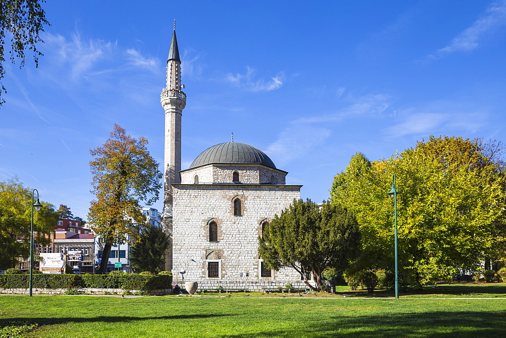 Ali Pasha Mosque, Sarajevo, Bosnia and Herzegovina, Europe - 1104-971