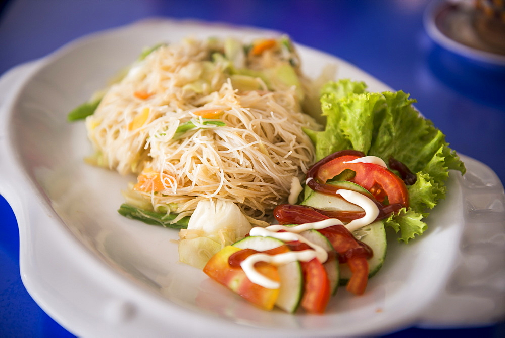 Burmese noodles, Pyin Oo Lwin (Pyin U Lwin), Mandalay Region, Myanmar (Burma), Asia