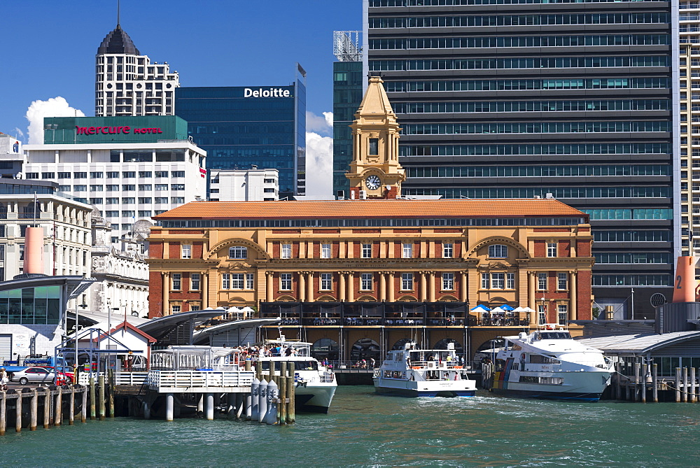 Auckland Ferry Terminal, Auckland, North Island, New Zealand, Pacific - 1109-2736