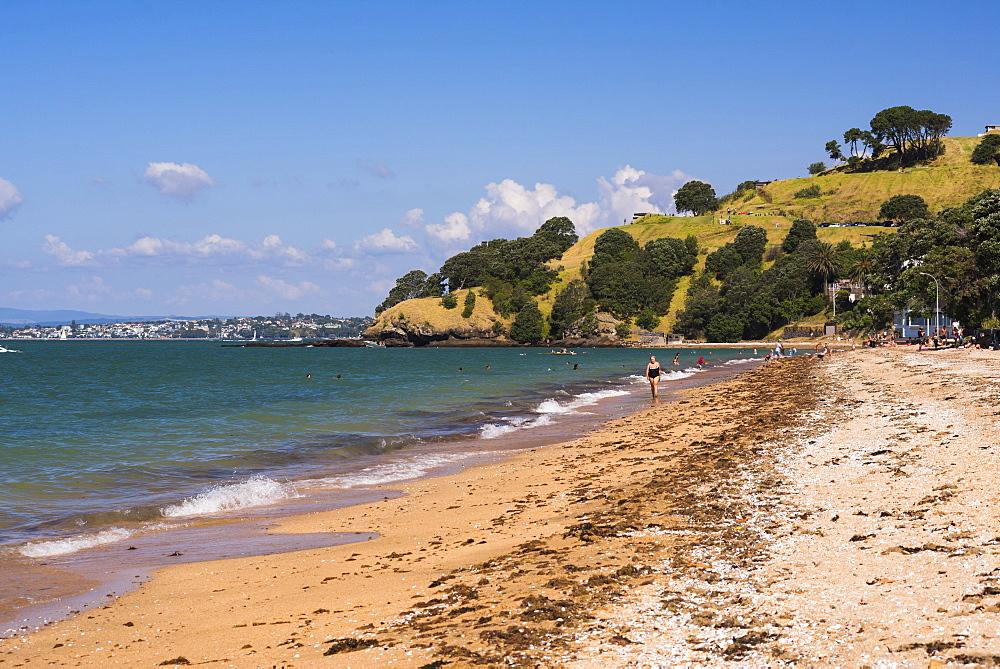 Cheltenham Beach, Devenport, Auckland, North Island, New Zealand, Pacific