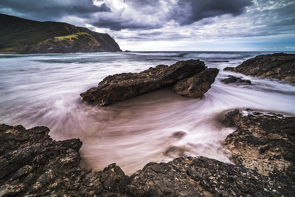 Tapotupotu Bay, Cape Reinga (Te Rerenga Wairua), Aupouri Peninsula, Northland, North Island, New Zealand, Pacific