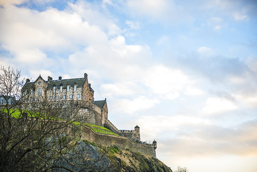 Edinburgh Castle, UNESCO World Heritage Site, Edinburgh, Scotland, United Kingdom, Europe - 1109-3080