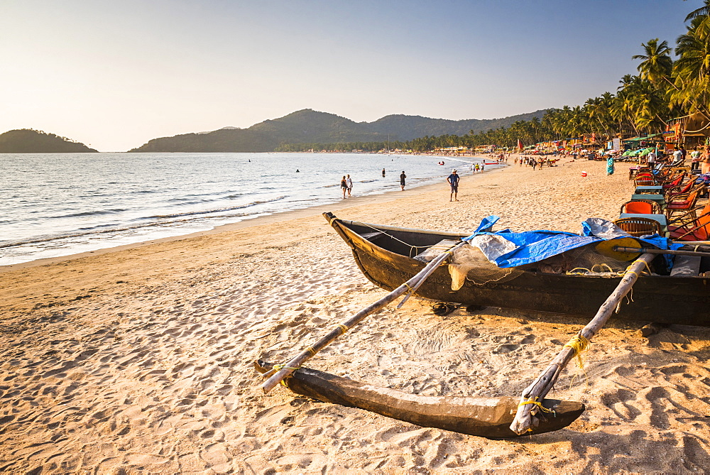 Palolem Beach, Goa, India, Asia - 1109-3143